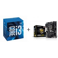 Core i3 6100 + GA-H110M-S2PH