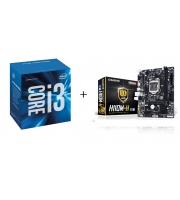 Core i3 6100 + GA-H110M-H