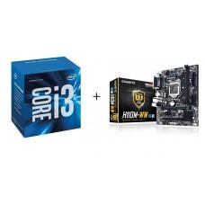 Core i3 6100 + GA-H110M-WW